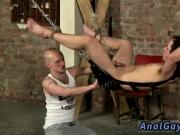 Old man and young gay deep throat sex movies Hanging there strapped to