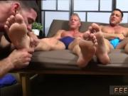 Porn tube gay fetish foot Ricky Hypnotized To Worship Johnny & Joey