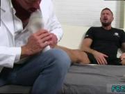Gay guy porn kiss movies gallery Dolf's Foot Doctor Hugh Hunter