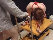 Extreme violently banged bdsm beauty