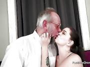 Grandpa fucks granddaughter