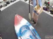 Ebony hood amateur public Up shits creek sans a paddle