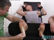 Gay cowboy feet fetish free Sebastian Tied Up & Tickled