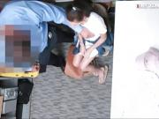 Naughty shoplifter Carolina Sweets gets railed by LP officer