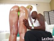 MILF Ryan Conner gets an anal interracial reaming