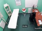 Doctor bangs petite patient in fake hospital