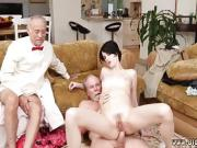 Old man fuck young girl sauna and vibrator xxx Frannkie