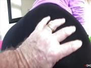 Stepdaughter gets fucked by stepdad POV style
