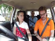 Hairy driving student bangs her colleague