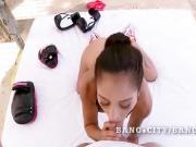 Jynx Maze sweet latina hot blowjob