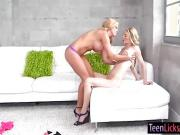 Parker Swayze n Karly Baker licking and fingering twats