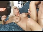 Blonde MILF Suck Fucks Cock Holly Heart