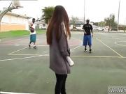 18 stream skinny teen fucked My Big Black Threesome