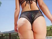Tasty Latina Kristina gets pounded hard by Lexs BBC