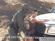 Cop fucks arrested teen and black white Latina Babe Fucked