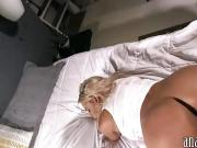 Huge boobs bitch tries out anal sex and caught on cam