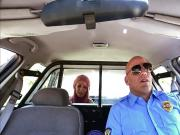 Blonde babe Aidra Fox fucks the arresting officer