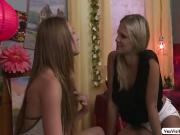Scarlet And Kirsten In One Steamy Lesbian Sex