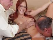 Old teacher woman hd and big tit strap on first time