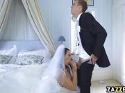Simony Diamond bangs the best man on her wedding day