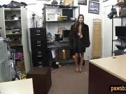 Small breasts babe boned by pawn man at the pawnshop