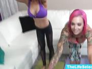 Anna Bell Peaks and friends fucking some random dudes