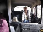 Damn blonde Kathy enjoys doggystyle and gets a hot messy cum