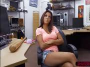 Horny latina Mia Martinez gets fucked by Shawn in his office