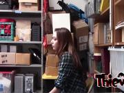 Brunette hottie gets banged by stranger