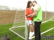 Sexy teen compeer's sister fucks brother Dutch football
