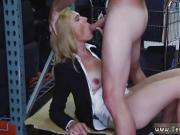 Mounted dildo while blowjob and stocking homemade Hot Milf