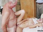 Old hairy guy fucks girl and young mature Molly Earns Her