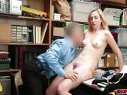 Hot blonde Zoe Parker destroyed by a giant dick