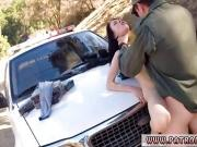 Real cop public and female cumshot BP caught her, so she