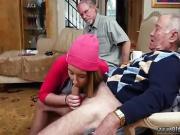 Old men fuck young Maximas Errectis