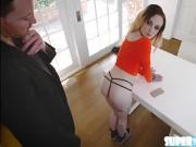 Horny groupie Chloe fucked in her ass