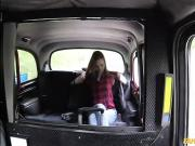 Blonde teen Chelsey fucks in the taxi