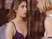 Kristen has a shuddering orgasm