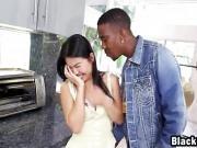 Asian Girlfriend Sucking Fucking Big Rod Interracial
