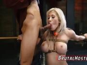 Sexy domination Big-breasted blondie cutie Cristi Ann is