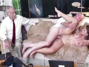 Nasty old grandpa Ivy impresses with her large knockers