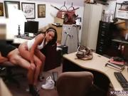 Hottest amateur teen blowjob and 69 Big hooter Latina is a