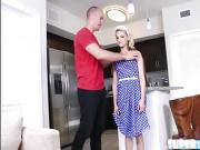 Toned blonde Hope gets fucked by Sean