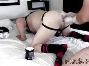 Kyler moss fist fucked gay stretching his fuckhole around