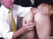 Teen job interview Ivy impresses with her ample jugs and