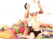 Young teen self shot Girlcompanions toying each other