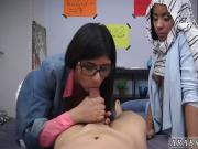 Muslim head scarf BJ Lessons with Mia Khalifa