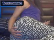 chilena de 36 tremendo culazo 8 25 oiled ass