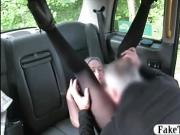 Blonde babe in pantyhose gets screwed for a free fare